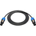 Sescom NSP4-5 Speaker Cable Neutrik 4-Pole Speakon to 4-Pole Speakon - 5 Foot