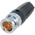Neutrik NBTC75BNN5  RearTWIST Tiny BNC Cable Connector