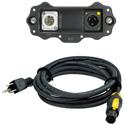 Neutrik NXP-RM-AES XIRIUM PRO Digital Receiver AES/EBU Output Module w/ NKXPF-5-15-3 powerCON TRUE1 Power Cable