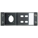 Neutrik NZPFD-4ST Blank Panel Plate for opticalCON & Four ST Connectors