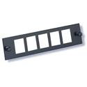 OCC 605AKX 5-Port Unloaded Adapter Plate for KMJ Jacks