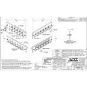OCC 616SMST ST Adapter Plates - SingleMode