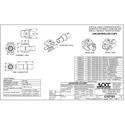 OCC AKBNC00 KMJ Snap-In BNC Coupler - Electric Ivory