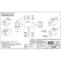 OCC AKDCPT01 KMJ Pass-Thru Adapter - Office White