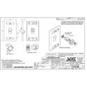 OCC AKSCAPC01 KMJ Snap-In C SingleMode APC Adapter - Office White