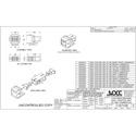 OCC AKSCM01 KMJ Snap-In SC MultiMode Adapter - Office White