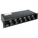 OCC RC2U62LSISP01R62A Broadcast SMPTE 6x2 Splice Enclosure for Stadium Cable with LEMO Socket and 6.35-9.65 Cable Gland