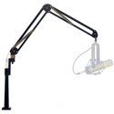 O.C. White ProBoom Elite Mic Arm & Riser - Black