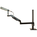 O.C. White ULP-18MA ProBoom Ultima LP Adjustable Mic Boom - 12 Inch Fixed Arm - Tools/Clamp Assembly -13mm Mounting Stud