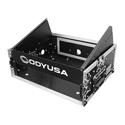Odyssey FR0802 Combo Rack 8U Top Slant Rack 2U Bottom Vertical Rack