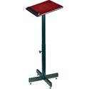 Oklahoma Sound Height Adjustable Portable Lectern - Mahogany