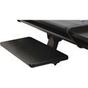 OmniRax Computer Keyboard/Mouse Shelf for Omni Desk - Black