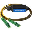 Camplex OPADAP-11 opticalCON QUAD APC to Four (4) LC/APC Breakout Adapter - Single Mode