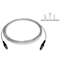 Sescom P/P-P-25 Audio Cable Plenum RCA Male to RCA Male - 25 Foot