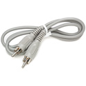 Connectronics RCA Male - RCA Male Audio Cable 3Ft
