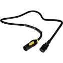 Laird PAC-T1M2IECF 14/3-SJ 15A powerCON TRUE1 Male to Molded IEC Female Power Adapter Cable - 3 Foot