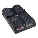 PAG PAGlink PL16plus 4-Position Charger for V-Mount Batteries