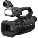 Panasonic AG-CX10 4K Camcorder with NDI/HX - UHD 4K60 Video - 3G-SDI - HDMI Out - 24x Optical Zoom/48x Digital iZoom