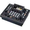Panasonic AW-RP60GJ Compact Remote PTZ Camera Controller with PoE and 3.5-Inch LCD GUI Monitor