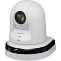 Panasonic AW-UE70WPJ 20x Zoom 4K PTZ Camera with 3G/HD/SD-SDI & HDMI Output - White