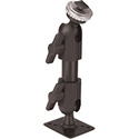 PanaVise 627-06SF Small Foot T-Bolt Pedestal Mount - 6 Inch Rise - Knob & Set Screw - T-Bolt Head