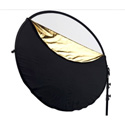 Westcott 301 Collapsible 40 Inch 5-in-1 Reflector with Gold Surface