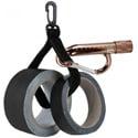 Portabrace PB-SPOOLER Gaffer Tape Spooler with Quick-Clip Carabiner