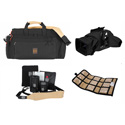 Portabrace RIG-57DKM Rig Carrying Case for Camera and Accessories - Black