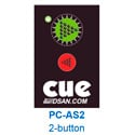 DSan PC-AS-2 Pocket Size 2-Button Actuator for Perfect Cue System