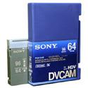 Sony Standard DVCAM Chipless Tape 64 Minute