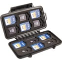Pelican 0915 Micro Memory Card Case - SD and MicroSD Cards