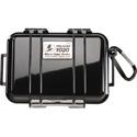 Pelican 1020 Micro Case - Black Case/Black Liner