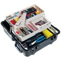 Pelican 1460TOOL Protector Mobile Tool Chest - Black