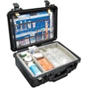 Pelican 1500EMS Protector EMS Case with Lid Organizer and Padded Dividers - Black