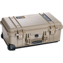 Pelican 1510NF Protector Carry-On Case with No Foam - Desert Tan