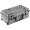 Pelican 1535WF Air Carry-On Case with Foam - Silver