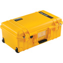 Pelican 1535NF Air Carry-On Case with No Foam - Yellow