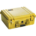 Pelican 1550NF Protector Case with No Foam - Yellow