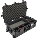 Pelican 1615TP Air Case with TrekPak Divider System - Black