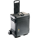 Pelican 1620M Case (Mobility Version) with Wheels and Foam - Black