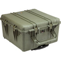 Pelican 1640 Case - OD Green With Foam