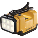 Pelican 9430 Rechargeable 3000 Lumens LED Remote Area Light - Yellow