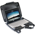 Pelican i1075 Hardback Tablet Case for iPad and iPad 2 - Black