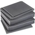 Pelican V550FS 5-Piece Replacement Foam Set for V550C Vault Series Cases