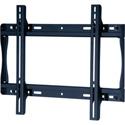 Peerless-AV SF640 Universal Flat Wall Mount for 32-50 in. Displays - Security Model - Black