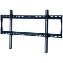 Peerless-AV SF660 Universal Flat Wall Mount for 39-80 in. Displays - Security Model - Black