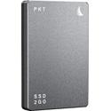 Angelbird PKTU31MK2-2000PK SSD2GO PKT MK2 Portable and Rugged SSD w/ Full USB-C 3.2 Gen 2 Compatibility - Grey - 2 TB