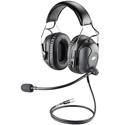 Plantronics SHR2638-01 Stereo Over-the-Head Wired Headset - Black
