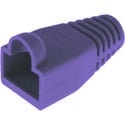 Platinum Tools 105088 RJ45 Medium Cat6 Boot / 6.5mm Max OD - Purple - 100/Pack
