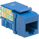 Platinum Tools 726BL-1 CAT6 Keystone Jack - 110 - Blue - Each